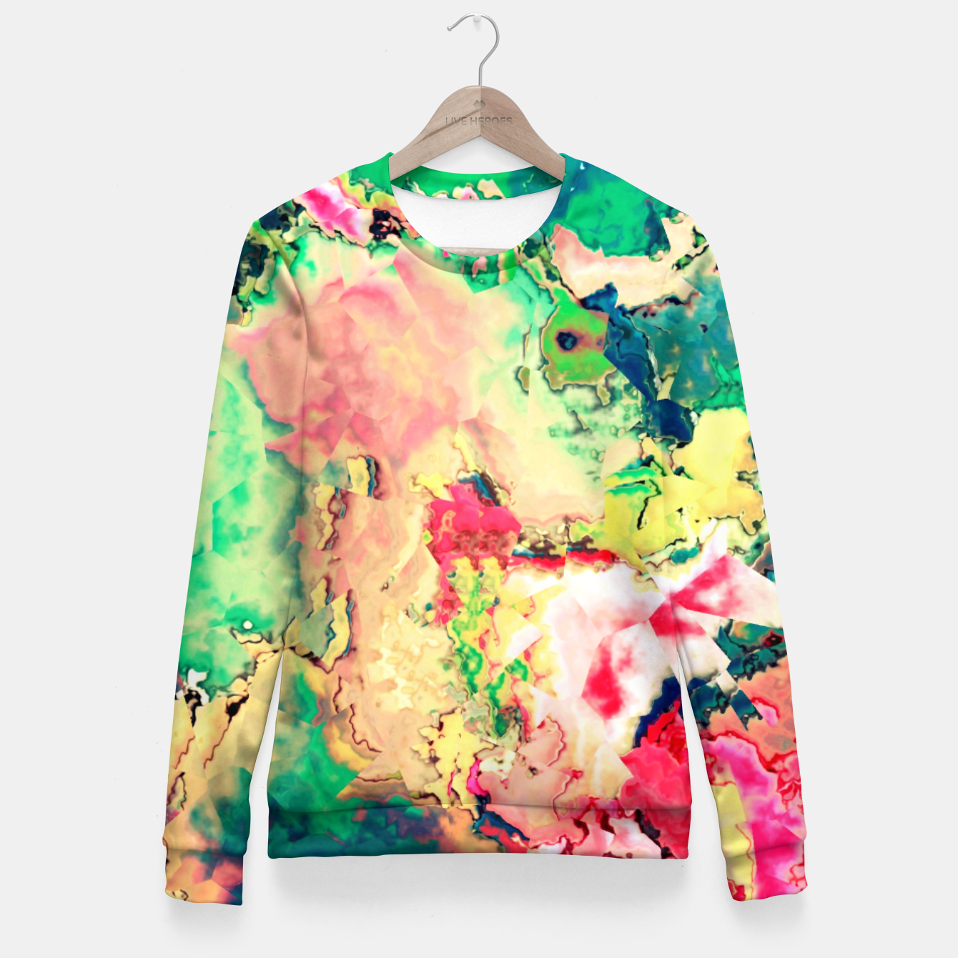 Zdjęcie Happy Colors Fitted Waist Sweater - Live Heroes