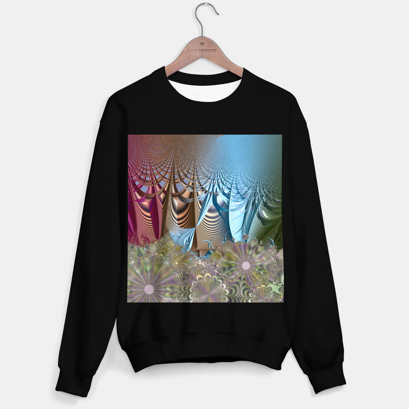 Image of Seasons and elements - Fractal design Sweater regular - Live Heroes