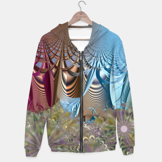 Seasons and elements - Fractal design Hoodie thumbnail image