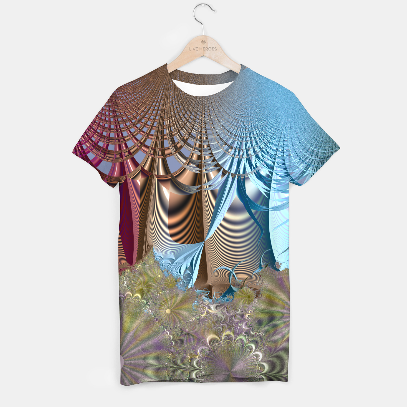 Image of Seasons and elements - Fractal design T-shirt - Live Heroes