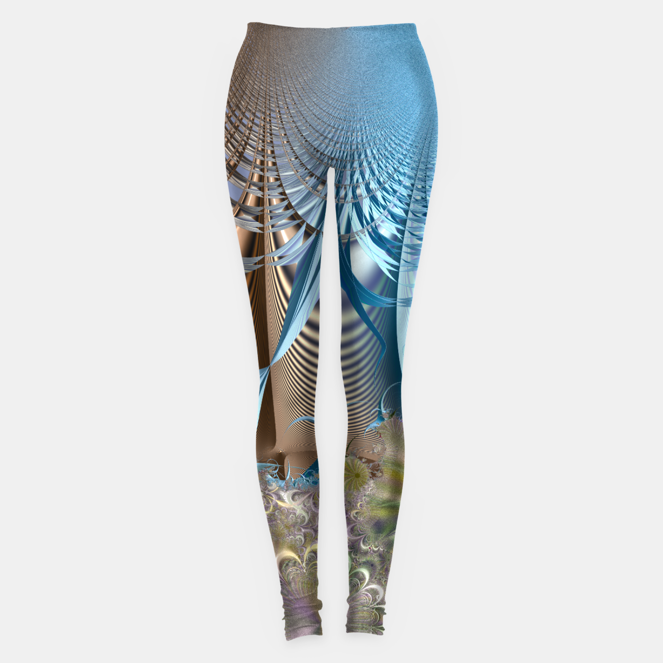 Image of Seasons and elements - Fractal design Leggings - Live Heroes