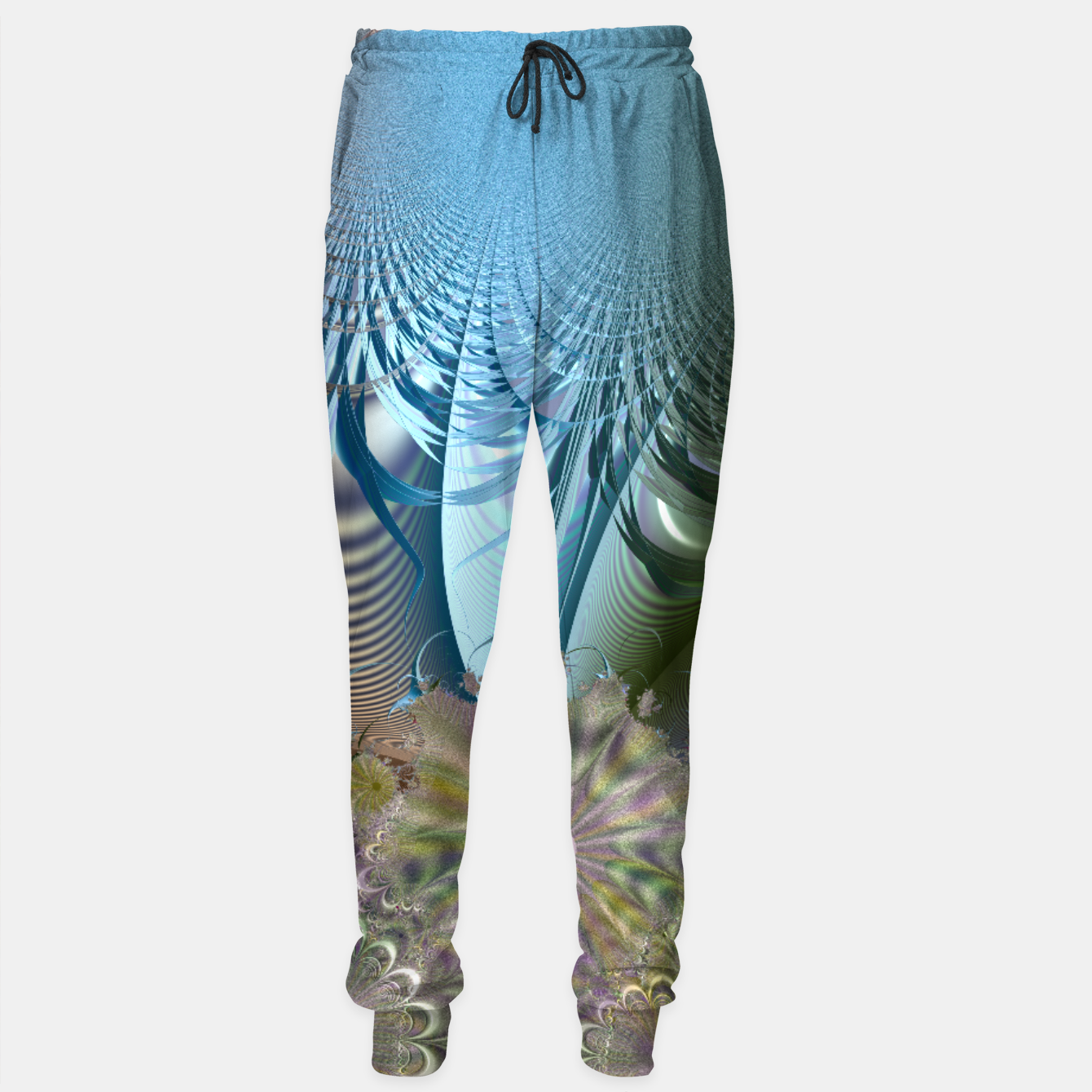 Image of Seasons and elements - Fractal design Sweatpants - Live Heroes