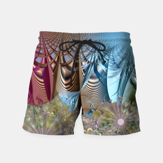 Seasons and elements - Fractal design Swim Shorts thumbnail image