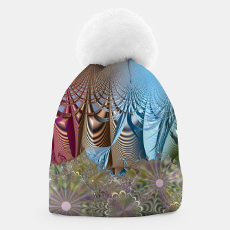 Seasons and elements - Fractal design Beanie thumbnail image