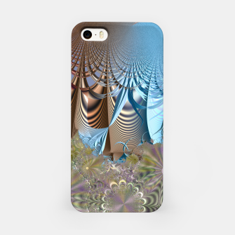 Seasons and elements - Fractal design iPhone Case thumbnail image