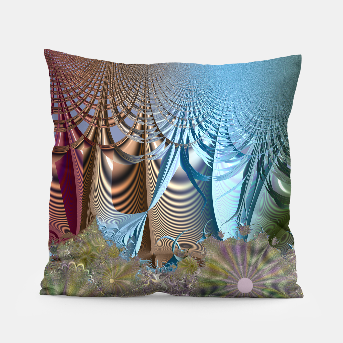 Image of Seasons and elements - Fractal design Pillow - Live Heroes