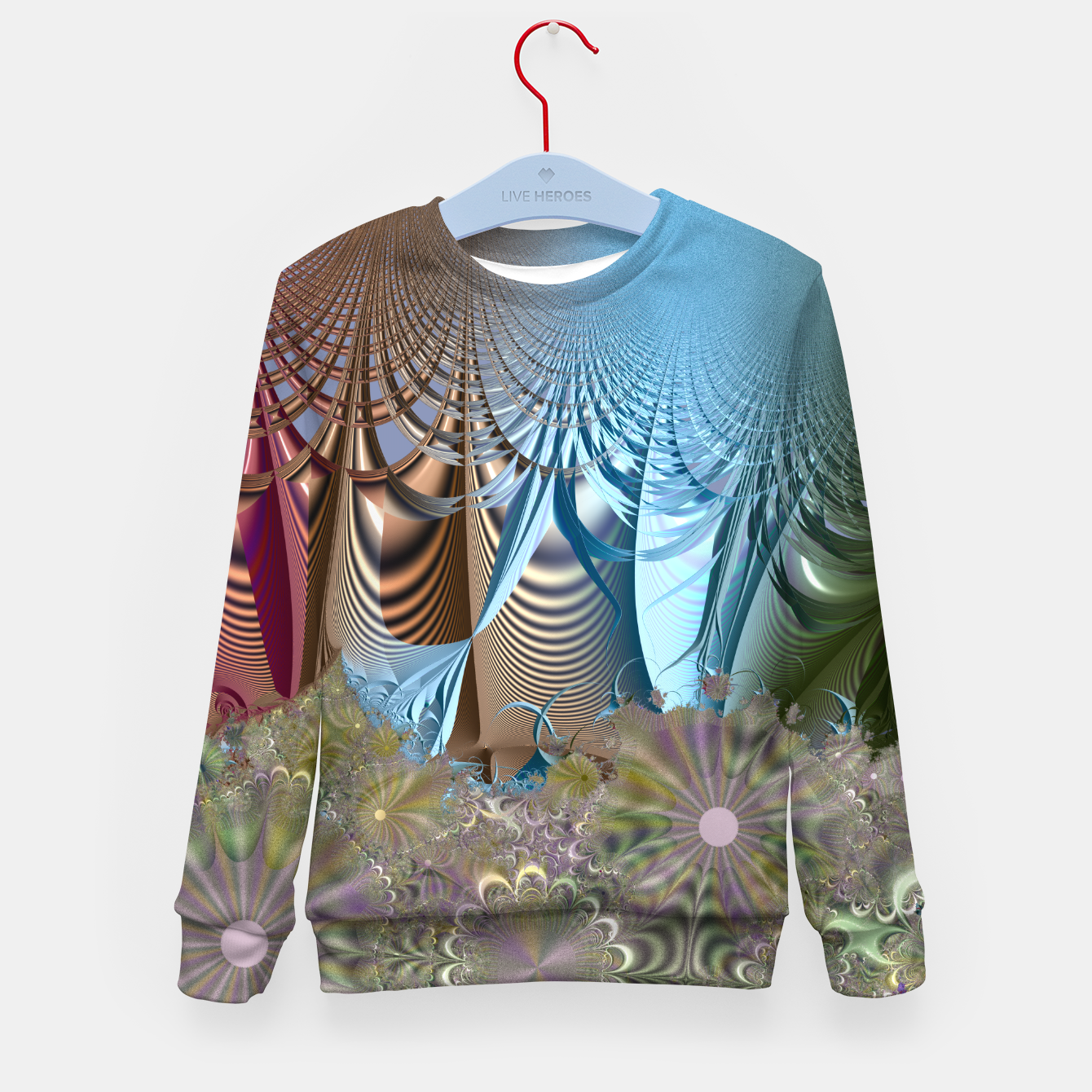 Image of Seasons and elements - Fractal design Kid's Sweater - Live Heroes
