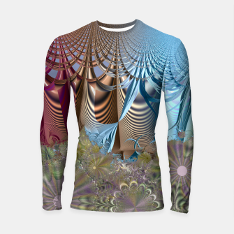 Thumbnail image of Seasons and elements - Fractal design Longsleeve Rashguard , Live Heroes