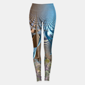 Miniaturka Seasons and elements - Fractal design Leggings, Live Heroes