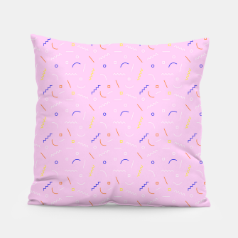 Thumbnail image of Old School Subtlety Pillow, Live Heroes