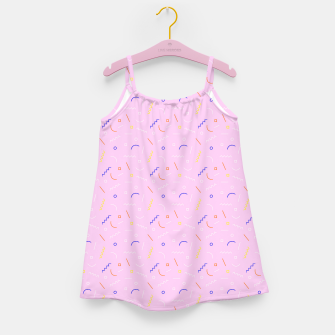 Thumbnail image of Old School Subtlety Girl's Dress, Live Heroes