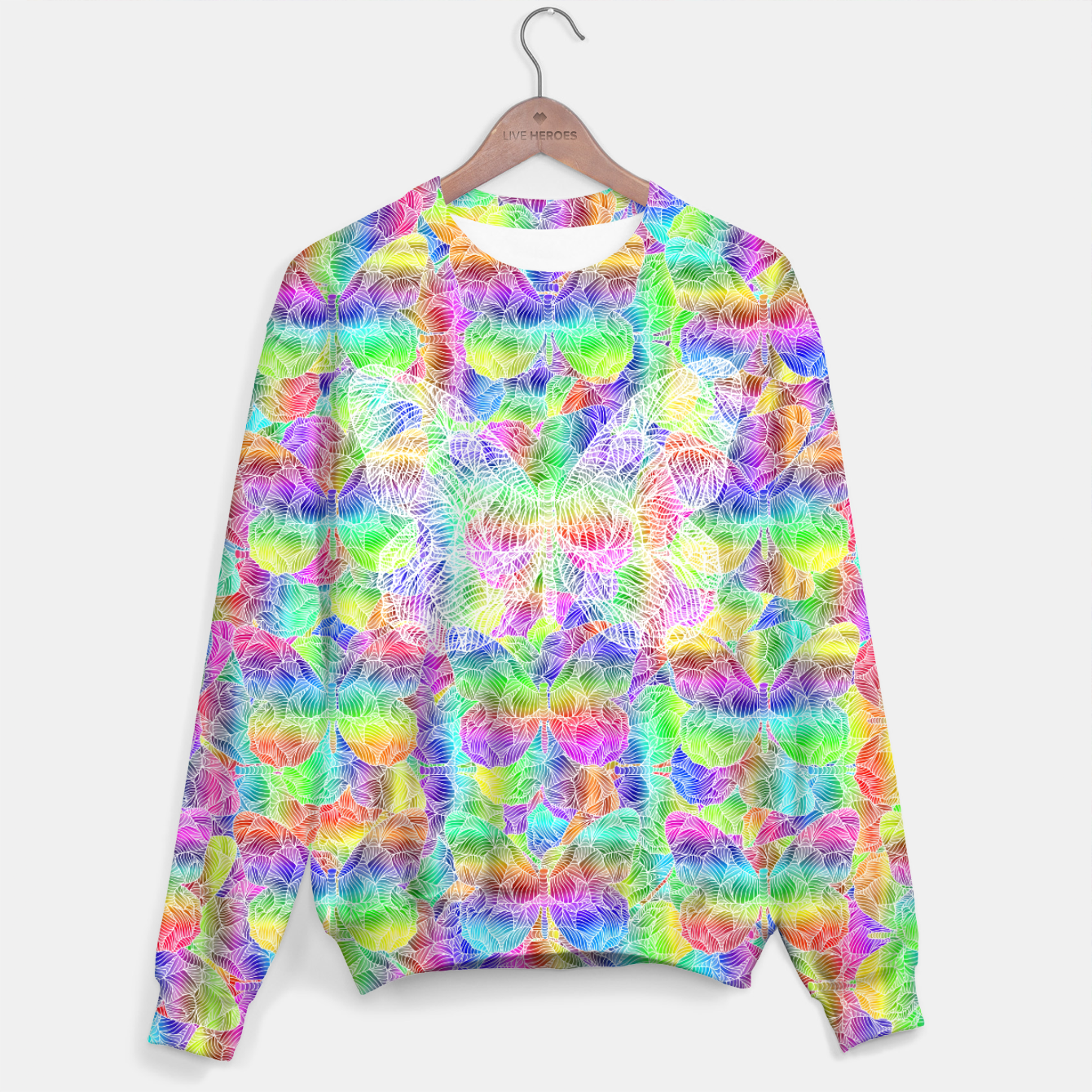 Image of butterfly Sweater - Live Heroes