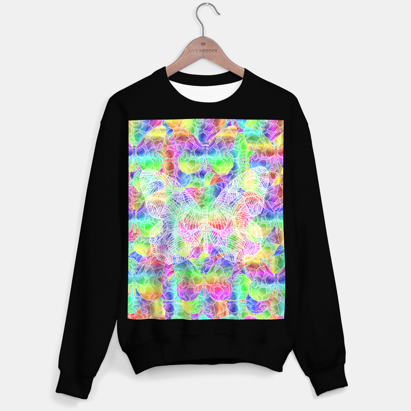 Image of butterfly Sweater regular - Live Heroes
