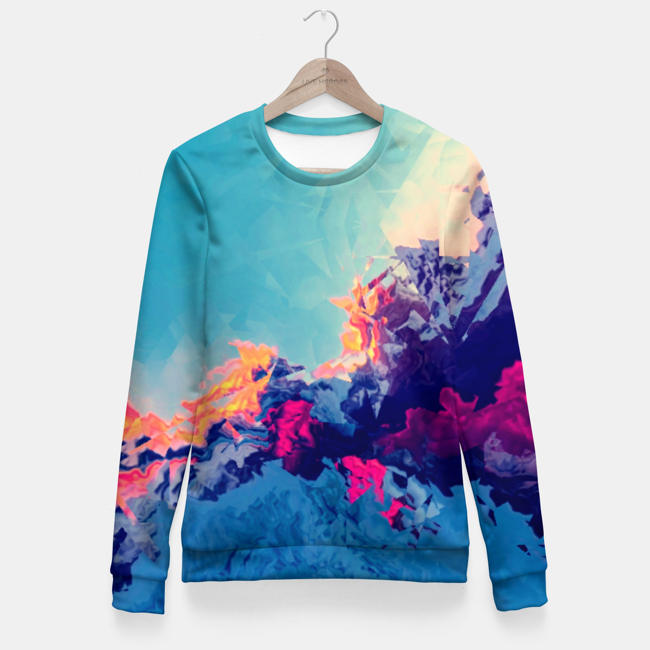Zdjęcie Rise Fitted Waist Sweater - Live Heroes