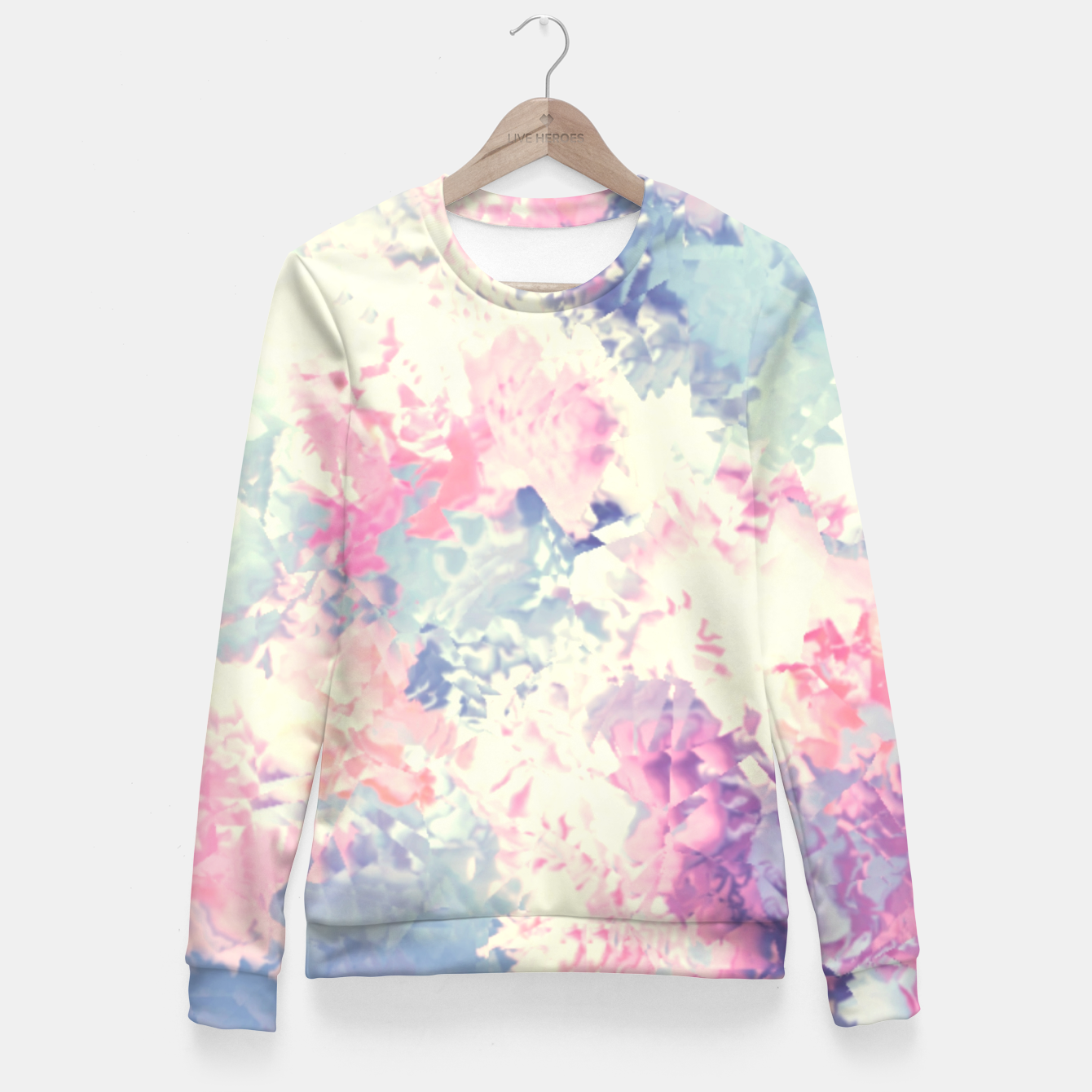 Zdjęcie Pastel Dreams Fitted Waist Sweater - Live Heroes
