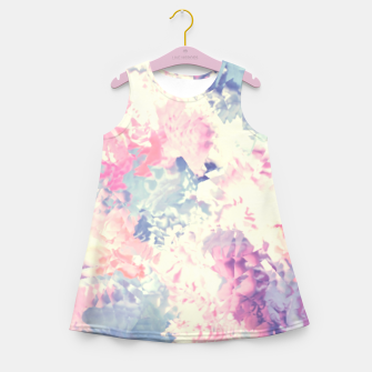 Pastel Dreams Girl's Summer Dress obraz miniatury