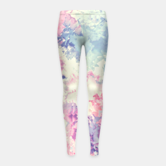 Miniature de image de Pastel Dreams Girl's Leggings, Live Heroes