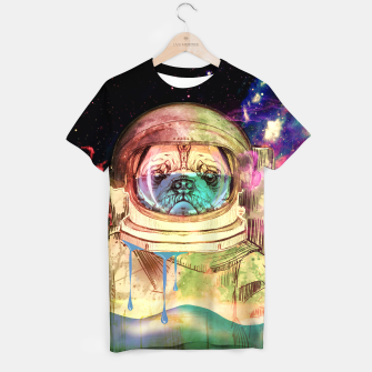 Thumbnail image of Astronault Pug COLOR T-shirt, Live Heroes