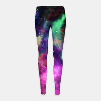 Astronault Pug COLOR Girl's Leggings Bild der Miniatur