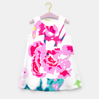 Thumbnail image of Trouvaille Girl's Summer Dress, Live Heroes