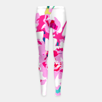 Thumbnail image of Trouvaille Girl's Leggings, Live Heroes