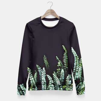 Thumbnail image of Dark Nature Fitted Waist Sweater, Live Heroes