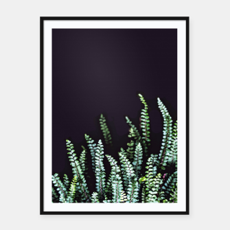 Thumbnail image of Dark Nature Framed poster, Live Heroes