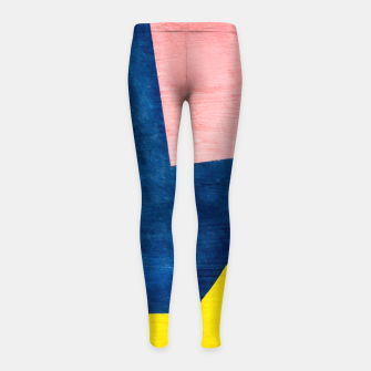 Thumbnail image of Abstracta Girl's Leggings, Live Heroes