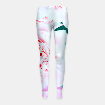 Thumbnail image of Annie Girl's Leggings, Live Heroes