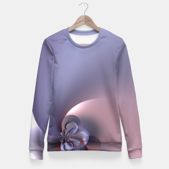 Pinky purple Fitted Waist Sweater thumbnail image