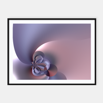 Pinky purple Framed poster thumbnail image
