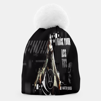 Thumbnail image of WATCH DOGS I HACK YOUR ASS 3D Beanie, Live Heroes