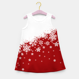 Imagen en miniatura de Xmas Snow 01 Girl's Summer Dress, Live Heroes