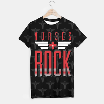Thumbnail image of Nurses ROCK T-shirt, Live Heroes