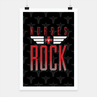 Thumbnail image of Nurses ROCK Poster, Live Heroes