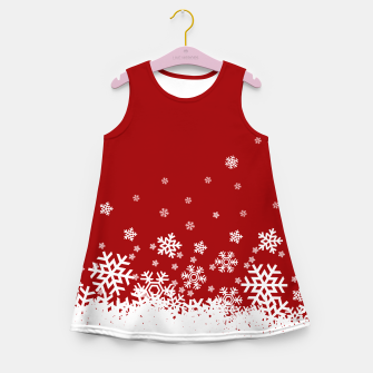 Imagen en miniatura de Xmas Snow 02 Girl's Summer Dress, Live Heroes