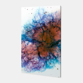 Thumbnail image of Inverted Crab Nebula Galaxy Canvas Art Print, Live Heroes