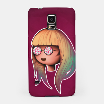 Thumbnail image of Blonde visionary Samsung Case, Live Heroes