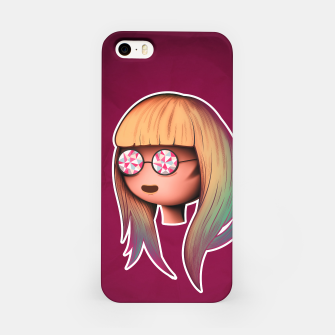 Thumbnail image of Blonde visionary iPhone Case, Live Heroes
