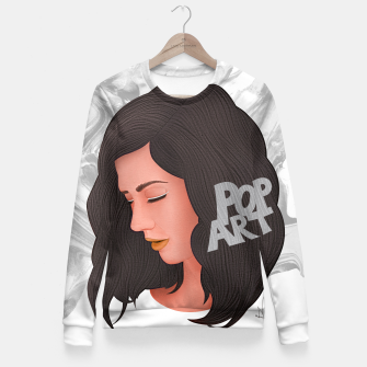 Miniaturka Marina and the diamonds Fitted Waist Sweater, Live Heroes