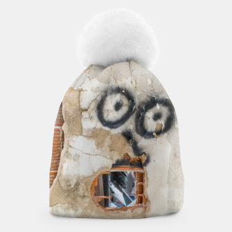 Miniatur Wall-Eyed Surprise Beanie, Live Heroes