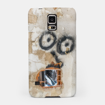Miniatur Wall-Eyed Surprise Samsung Case, Live Heroes