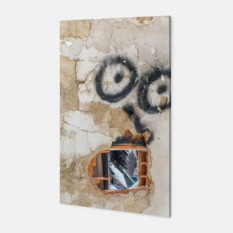 Miniatur Wall-Eyed Surprise Canvas, Live Heroes