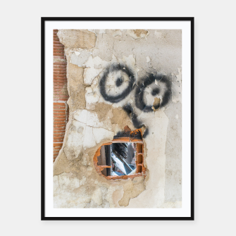 Miniatur Wall-Eyed Surprise Framed poster, Live Heroes