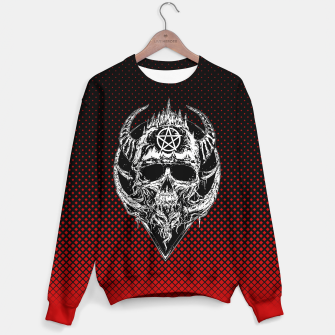 Thumbnail image of Skkull(R3D) Sweater, Live Heroes
