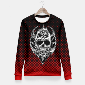 Thumbnail image of Skkull(R3D) Fitted Waist Sweater, Live Heroes
