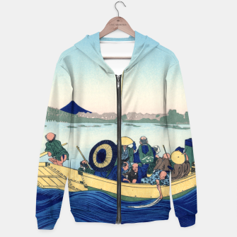 Thumbnail image of Fuji Sunset Hoodie, Live Heroes