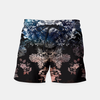 Thumbnail image of DARK GARDEN Swim Shorts, Live Heroes