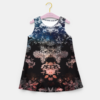 Thumbnail image of DARK GARDEN Girl's Summer Dress, Live Heroes