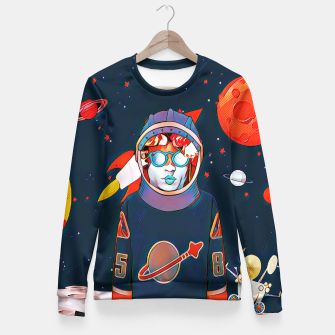 Thumbnail image of Spaceman Fitted Waist Sweater, Live Heroes